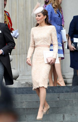 kate middleton, duchess of cambridge, alexander mcqueen, diamond jubilee
