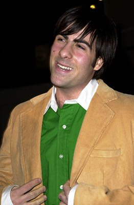 Jason Schwartzman at the Hollywood premiere for Screen Gems' Slackers