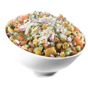 Garbanzo salad -- Getty Images