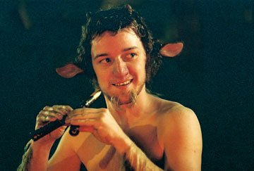 Mr. Tumnus ( James McAvoy ) in Walt Disney Pictures' The Chronicles of Narnia: The Lion, The Witch and The Wardrobe