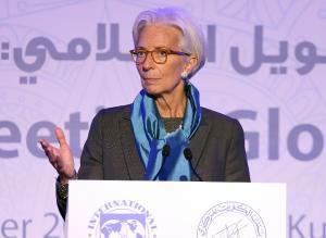 International Monetary Fund chief Christine Lagarde…