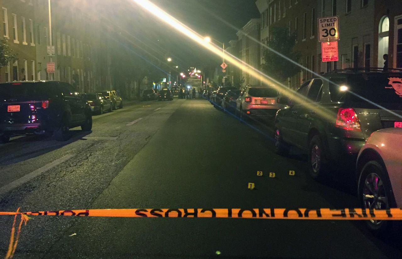 Multiple people shot by gunmen in Baltimore
