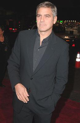 George Clooney at the Hollywood premiere of Warner Bros. The Good German