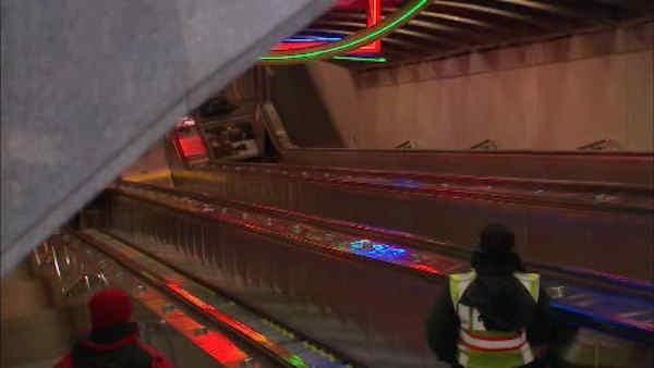 Escalator accident injures 5 at PATH station