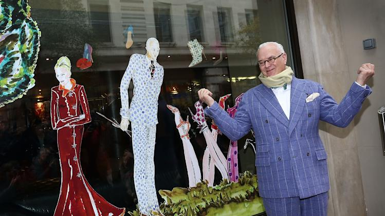 The May Fair Hotel Unveils Fashion Windows By Manolo Blahnik