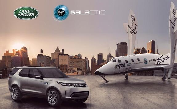 Virgin Galactic, Land Rover Launch Contest to Send People into Space