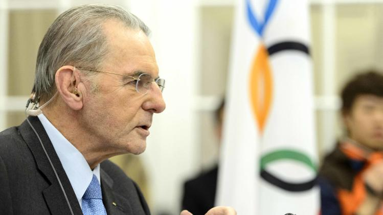 Rogge: Rio Olympic organizers don't need warning