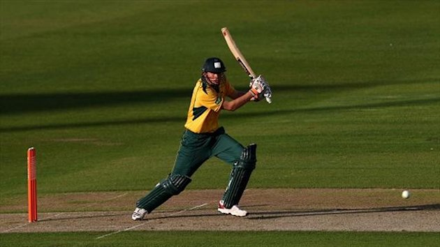 Alex Hales' brutal hitting helped the Outlaws beat Yorkshire