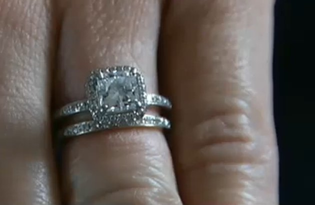 diamond engagement Ring of Sarah Darling