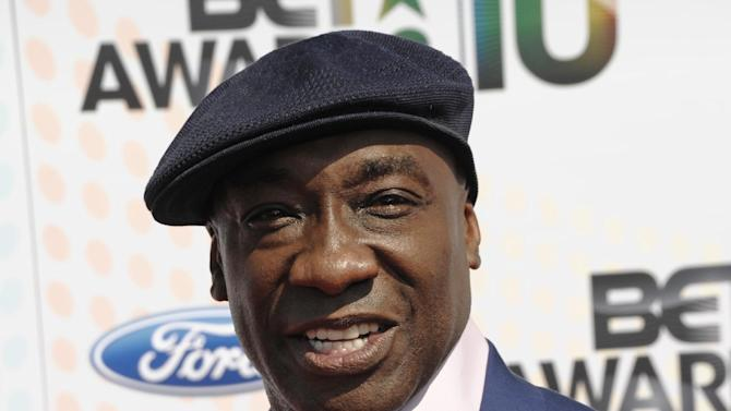 FILE - This June 27, 2010 file photo shows actor Michael Clarke Duncan at the BET Awards in Los Angeles. Duncan has been hospitalized in Los Angeles after a heart attack. Publicist Joy Fehily says in a brief email statement that the 54-year-old actor suffered a myocardial infarction early Friday, July 13, 2012. She says his heart rate has stabilized and he's expected to make a full recovery. (AP Photo/Dan Steinberg, file)