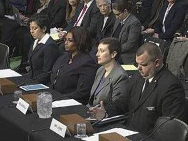 Military Sexual Assault Victims Testify On Capitol Hill