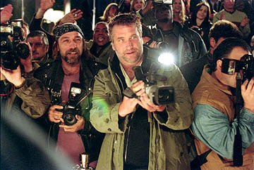 Kevin Gage as Kevin Rosner and Daniel Baldwin as paparazzo Wendell Stokes in 20th Century Fox's Paparazzi