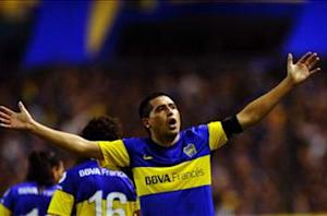 Riquelme relishing Boca Juniors comeback