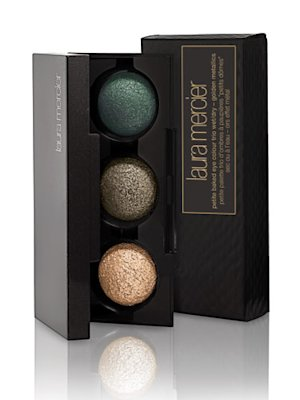 Laura Mercier Mini Baked Golden Metallics Eye Trio