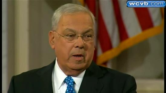 Menino gives annual speech under spotlight