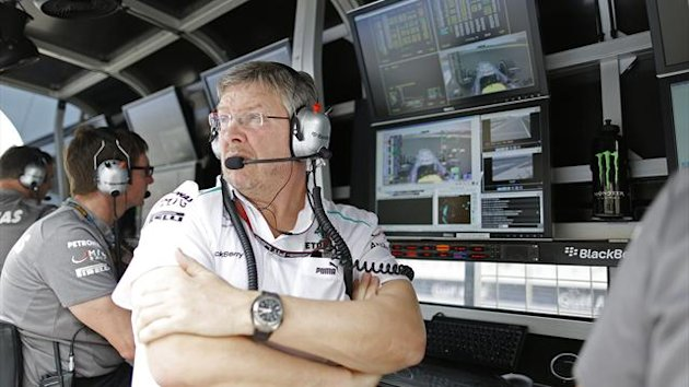 Ross Brawn, Mercedes, 2013