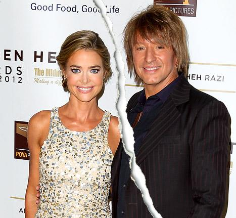 Denise Richards, Richie Sambora Split