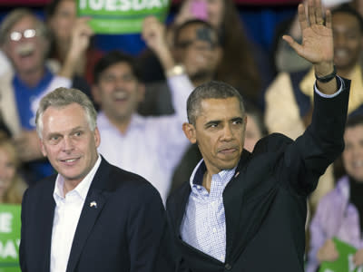 Obama: Vote for McAuliffe Is Vote for Progress