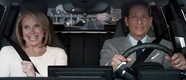Find Out If Katie Couric Can Twerk In BMW's New Super Bowl Commercial
