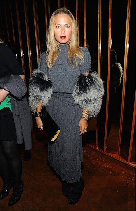 Rachel Zoe at the V magazine party