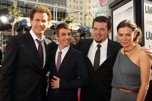 Land of the Lost LA Premiere 2009 Will Ferrell Jorma Taccone Danny McBride Anna Friel