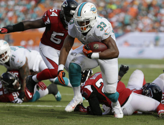 Falcons Dolphins Football