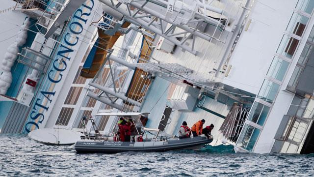 2 Bodies Raise Death Toll to 5 in Sinking of Cruise Ship, Costa Concordia