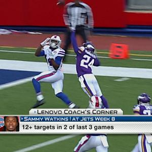 Lenovo Coach's Corner: What can we expect from Buffalo Bills wide receiver Sammy Watkins?