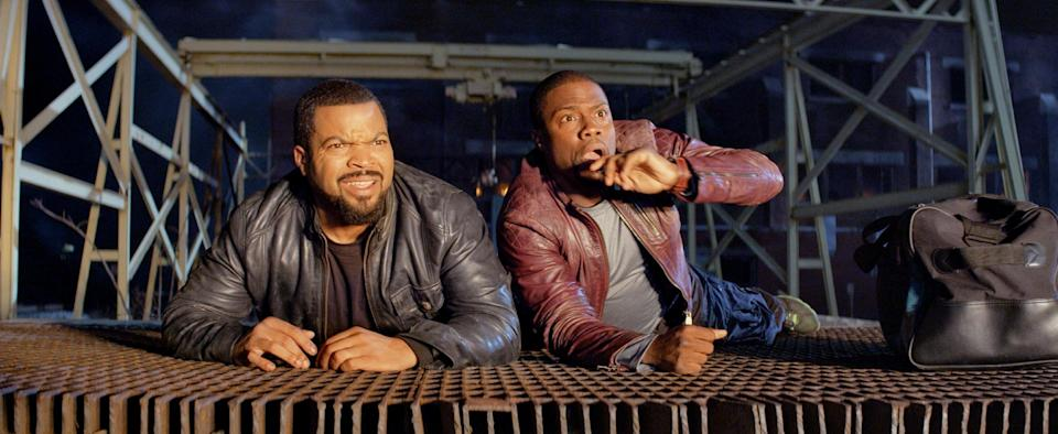 'Ride Along' No. 1 for third week