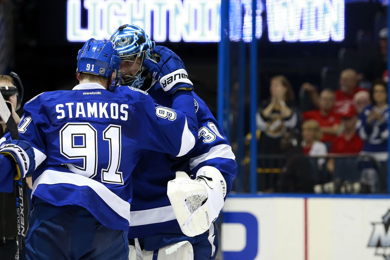 NHL scores 2016: Lightning's surge proof that Stamkos is staying in Tampa Bay, for now