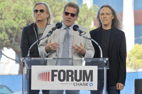 The Eagles Set to Reopen the Forum in L.A