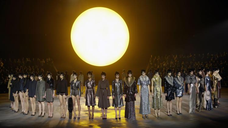 Jacobs' sepia-filtered show wraps Fashion Week
