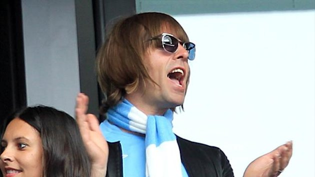 2010-11 FA Cup - Final - Manchester City v Stoke City Liam Gallagher in the stands.