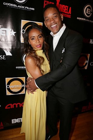 Jada Pinkett Smith y Will Smith via Wireimage