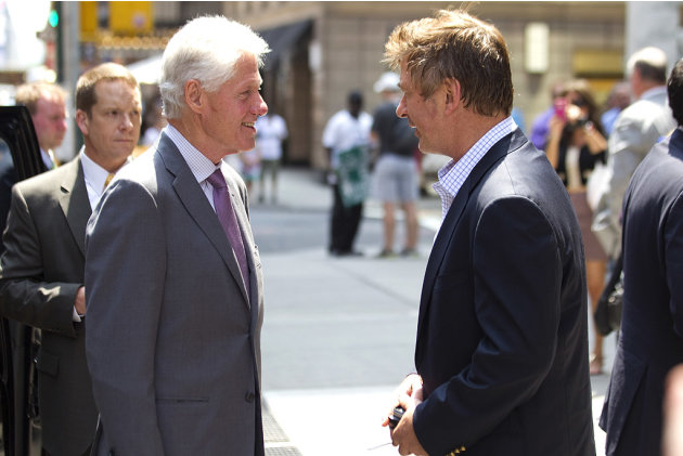 Alec Baldwin, Bill Clinton