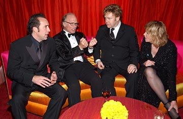 Nicolas Cage, Ed Harris, Elton John, Amy Madigan Elton John AIDS Foundation's Annual Viewing Party 75th Academy Awards - 3/23/2003