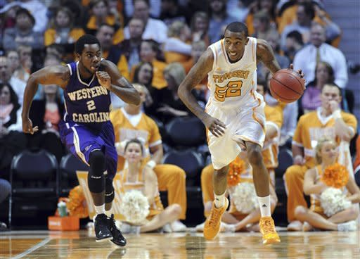 Hall, Tennessee outlast Western Carolina 66-52
