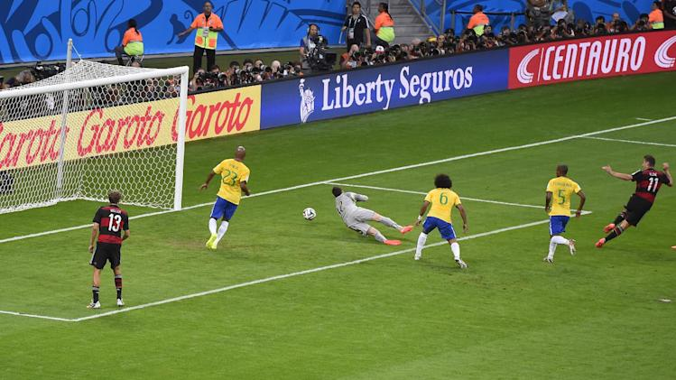 Brazil's World Cup humiliation smashes social media records