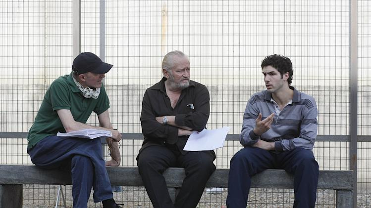A Prophet Production Photos 2010 Sony Picture Classics Tahar Rahim Niels Arestrup Jacques Audiard