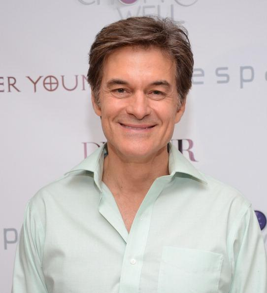 Why Dr. Oz Doesn't Drink Coffee in the Morning