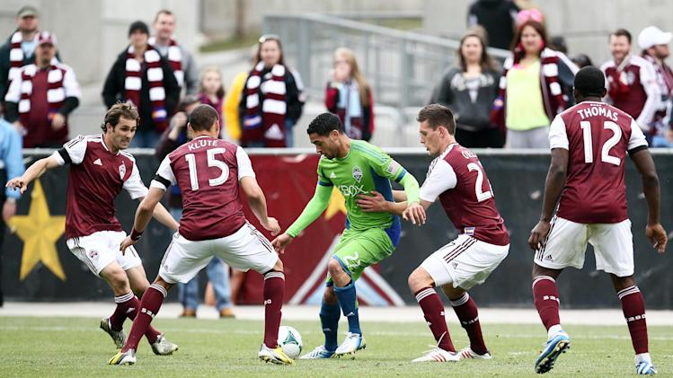 MLS: Seattle Sounders at Colorado Rapids
