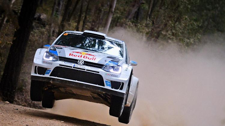 Ogier extends lead in Rally Australia