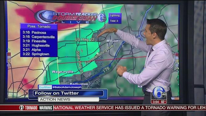 AccuWeather: Severe Thunderstorm Warnings, Watches in effect