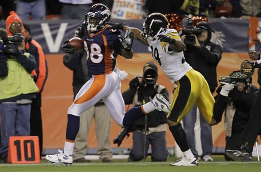 Tebow rules in OT, too: Broncos 29, Steelers 23