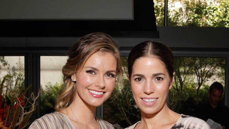 Brianna Brown and Ana Ortiz seen at the 3rd Annual Women Making History Brunch presented by the National Women's History Museum and Glamour Magazine at the Skirball Cultural Center on Saturday, August 23, 2014, in Los Angeles, Calif. (Photo by Todd Williamson/Invision for National Women's History Museum/AP Images)