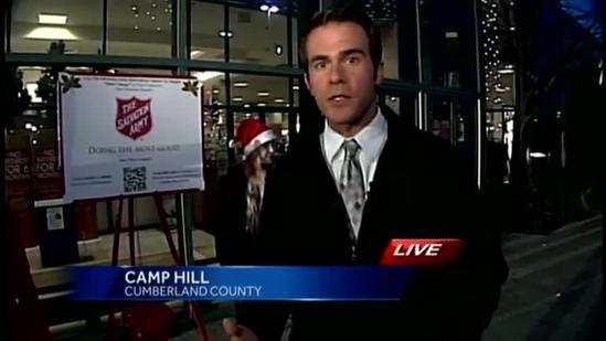 Man poses as Salvation Army bell ringer
