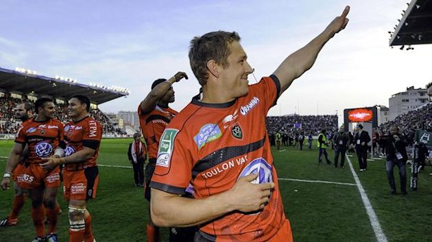 Wilkinson - Toulon - 7 avril 2013