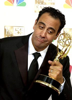Brad Garrett Best Supporting Actor - Comedy Everybody Loves Raymond Emmy Awards - 9/22/2002