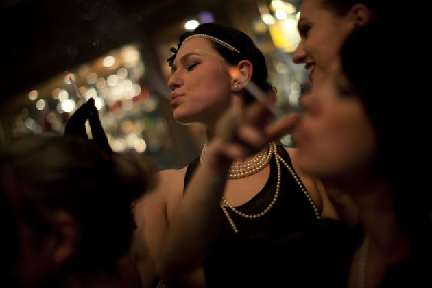 In this March. 8, 2012 photo, Russian-speaking Israelis dance to Russian pop beats at the Babylon nightclub in Tel Aviv. The club caters to the Russian-speaking immigrant community, featuring hired da