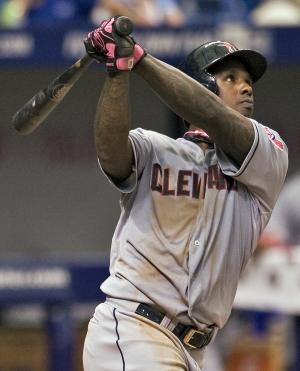 Indians place OF Morgan on 15-day DL